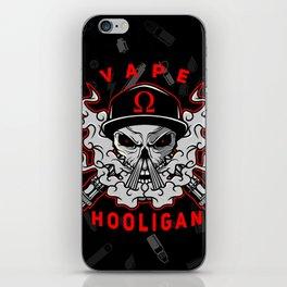 VAPE HOOLIGAN iPhone Skin