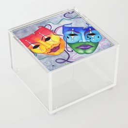 Comedy and Tragedy Acrylic Box