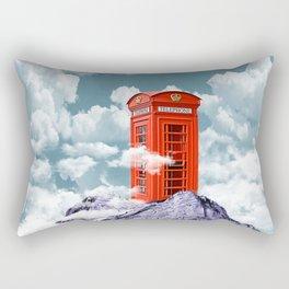 Telephone Box Rectangular Pillow