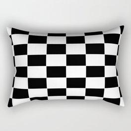 Checkerboard pattern Rectangular Pillow