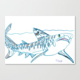 Tiger Shark II Canvas Print