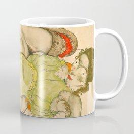 "Egon Schiele ""Female Lovers"" Coffee Mug"