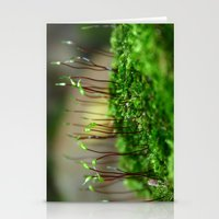moss Stationery Cards featuring Moss by 8daysOfTreasures