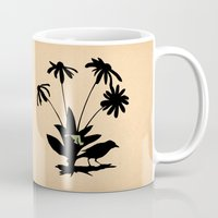 maryland Mugs featuring Maryland - State Papercut Print by Bean Cutter