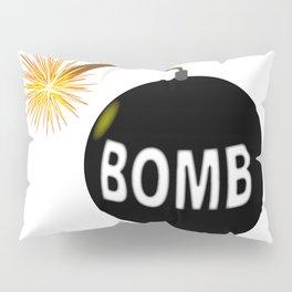 Cartoon Bomb Pillow Sham