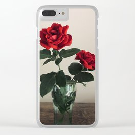 Last roses of Summer Clear iPhone Case