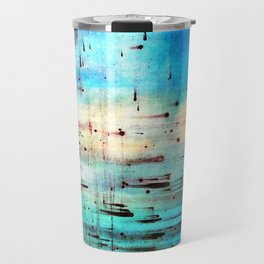 Blowing Dots (2) Travel Mug