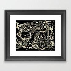 artwork Framed Art Print