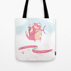 Purrfect Together Tote Bag