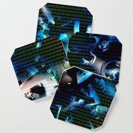 Binary code machine Coaster