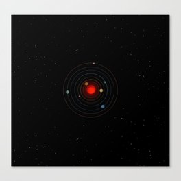 Trappist-1 Is Very Exciting Canvas Print