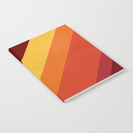 Retro 70s Color Palette II Notebook