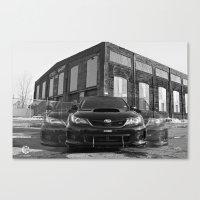 subaru Canvas Prints featuring Seeing Subaru by Valerie Agrusa Photography