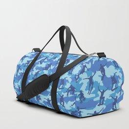 Skater Camo OCEAN Duffle Bag