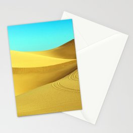 Mystical Hot Desert Stationery Cards