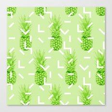 Summer Pineapples Canvas Print