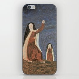 St. Teresa Shakes Her Fist At God iPhone Skin