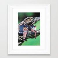 safari Framed Art Prints featuring Safari by John Turck