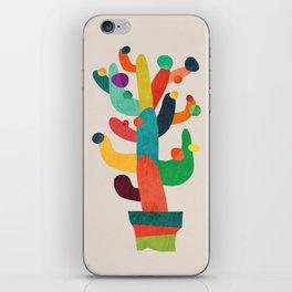 Whimsical Cactus iPhone Skin