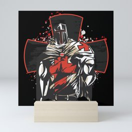 Saint George Cross Mini Art Print