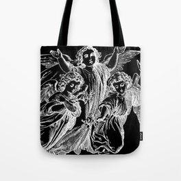Angels | Cherubs | Vintage | Gothic | Subculture Tote Bag