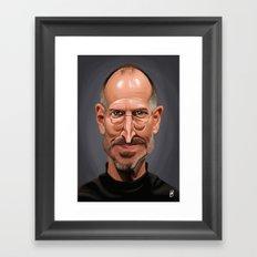 Celebrity Sunday ~ Steve Jobs Framed Art Print