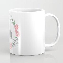Spring Wreath with Bunny Coffee Mug