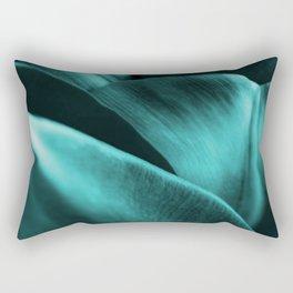 Green Succulent Leaves #decor #society6 #homedecor Rectangular Pillow