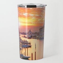 Sunset in Venice Travel Mug
