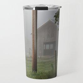Rustic Barn Travel Mug