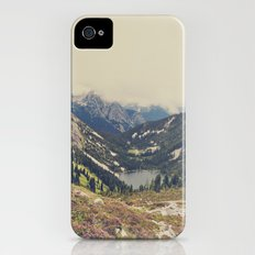 Mountain Flowers iPhone (4, 4s) Slim Case