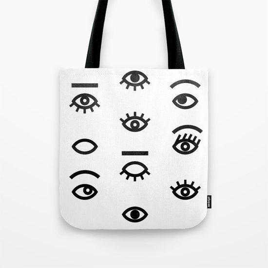 eyes II Tote Bag