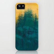 Gold Rush Peacock iPhone SE Slim Case