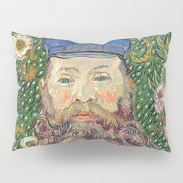 Portrait of the Postman Joseph Roulin by Vincent van Gogh Pillow Sham