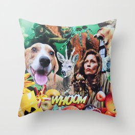 Whoom! Throw Pillow