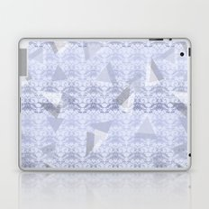 Floral Lace Collection - Blue Laptop & iPad Skin