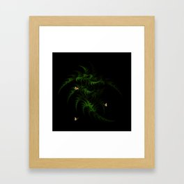 Fractal Woodland Fern Framed Art Print
