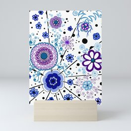 Ka-BLUE-ie! Mini Art Print