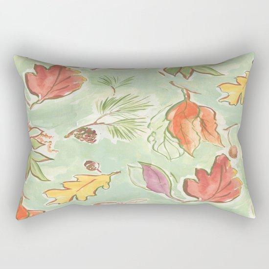start to fall Rectangular Pillow