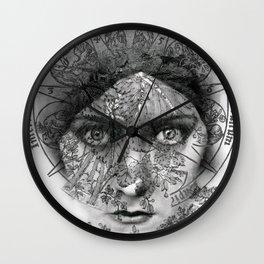 The Eyes of Alchemy Wall Clock
