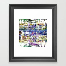Stay awake, clear clouded head and run into nodes. Framed Art Print