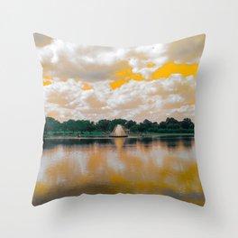 William Byrd Park Throw Pillow