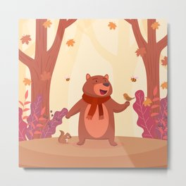 Bear in Heaven Metal Print