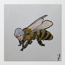 Honey Bea Canvas Print