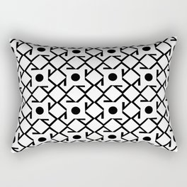 Antic pattern 8- from LBK Rectangular Pillow