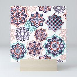 Geometrical Pattern Full Color Mini Art Print