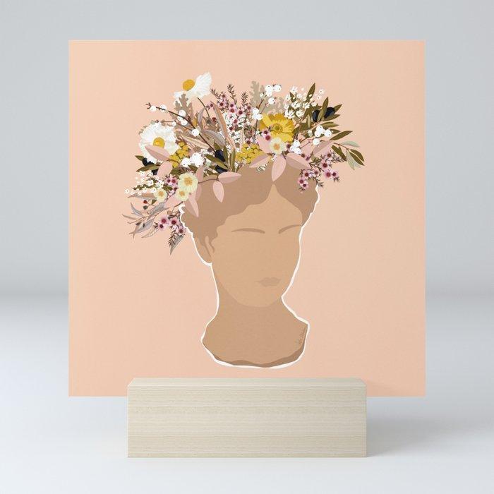 Guadalupe Flora II Mini Art Print