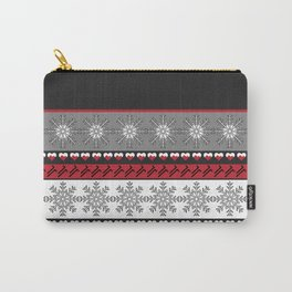 Merry Holiday Christmas Carry-All Pouch