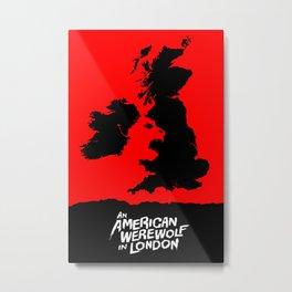 An American Werewolf in London Metal Print
