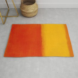 1956 Orange and Yellow by Mark Rothko HD Rug